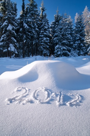 2012imSchnee(10).jpg Stock Photo