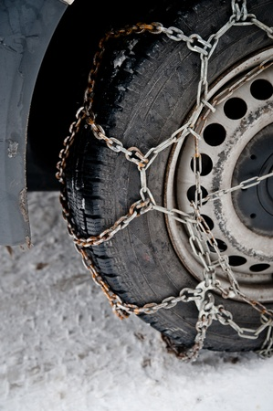 Rusty Snow Chains photo