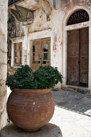 Abandoned Alley, taken in Naxos, an Isle of Greece Stock Photo - 18129128