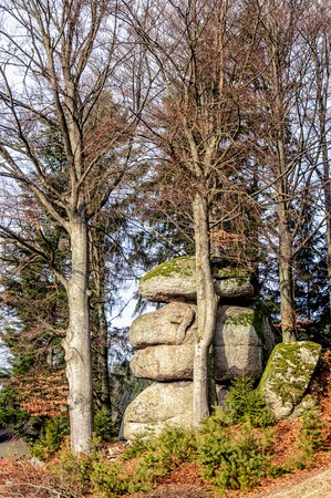 upper austria: Granite Stone Formation taken in Upper Austria