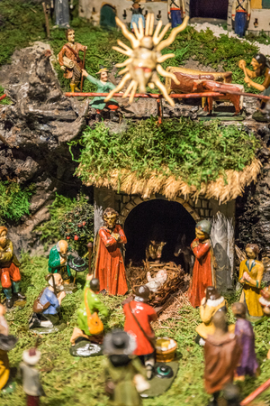 Old Christmas Crib photo