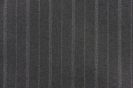 pinstripes: wool suiting with alternating think and thin pinstripes Stock Photo