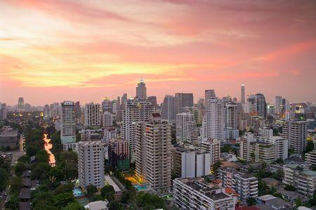 bangkok city: Bangkok City Skyline