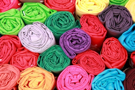 cotton dress: fabric row