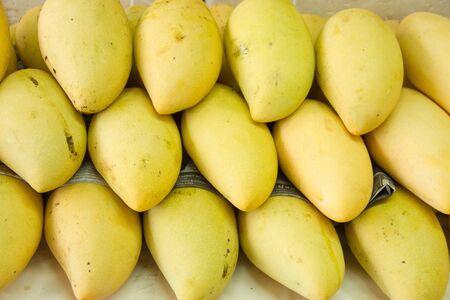 mango at JJ market ,Bangkok Stock Photo
