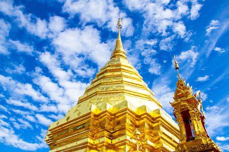 Phra That Doi Suthep, Chiang Mai,Thailand Stock Photo