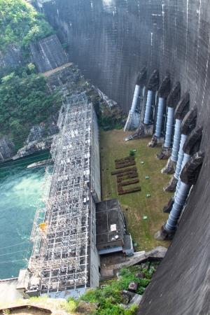 Bhumibol dam at Tak Thailand