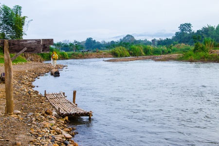 Pai river and waterfront Stock Photo - 16721281