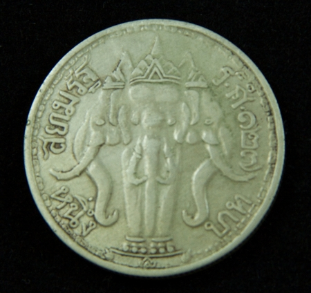 Old coin in Thailand, which is obsolete today Stock Photo - 17142833