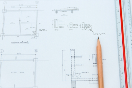 Drawing detail of water tank structure