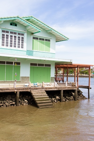 Waterfront home,Ampawa, Thailand photo