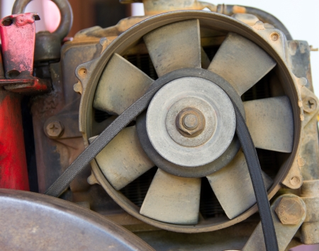 Turbine of the Agricultural engines photo