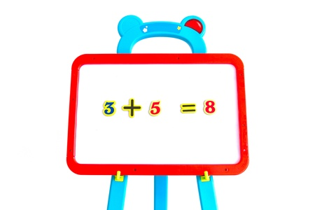Whiteboard for displaying mathematical equations