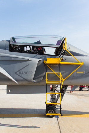 Ladder fighter aircraft on gripen