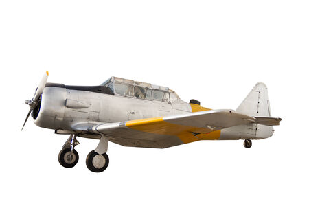 Fighter aircraft close up on white background photo