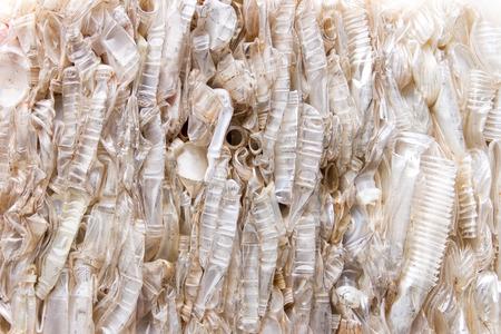 scrap trade: Rottami di plastica per il riciclo Archivio Fotografico