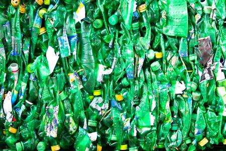 scrap trade: Rottami di plastica per il riciclo Editoriali
