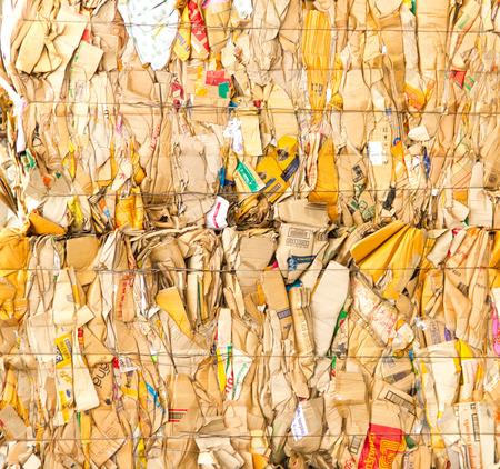 briquettes: Waste paper briquettes for Recycling