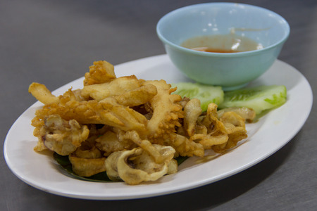 exotically: Sun-fried squid
