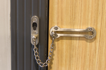 hasp: hasp for the door Stock Photo