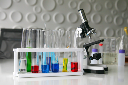 Scientific equipment at laboratory