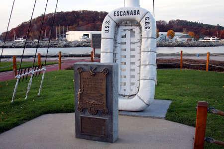 Sunken ship memorial