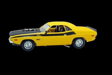 challenger: Classic model car