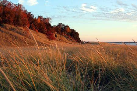 great lakes: Great Lakes shoreline Stock Photo