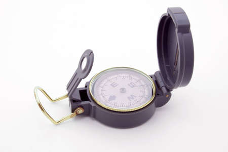 topographical: Topographical compass Stock Photo