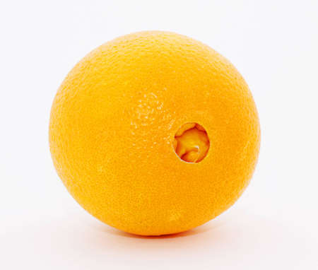 valencia orange: Navel Orange Stock Photo