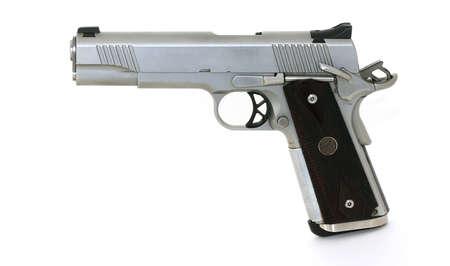 Pistola calibre 45 Foto de archivo - 4321232