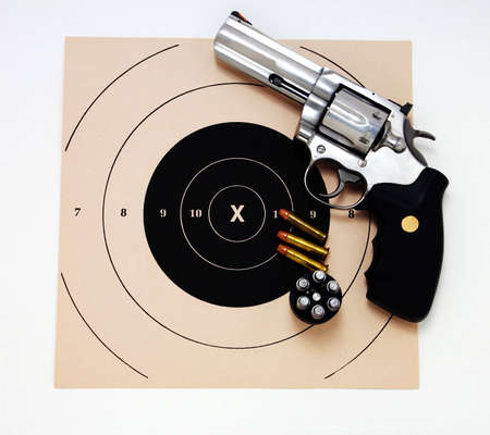 magnum: Magnum Revolver et cible