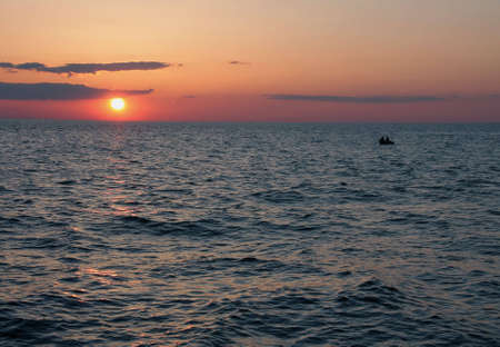 great lakes: Great Lakes sunset