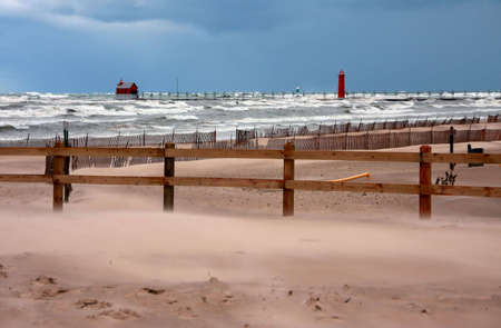 Great Lakes storm photo