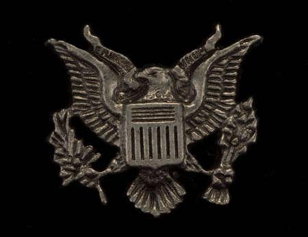 US eagle insignia photo