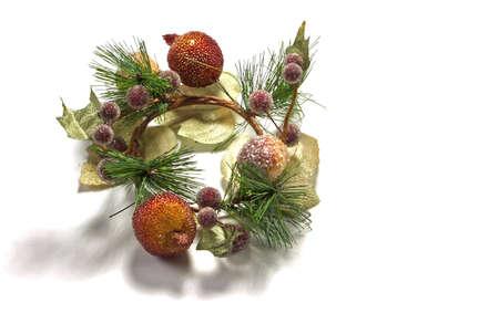 Christmas wreath decoration