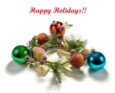 Christmas greeting background