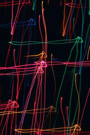 Abstract colored beams of light Banco de Imagens