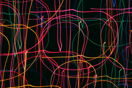 Holiday lights abstract Banco de Imagens
