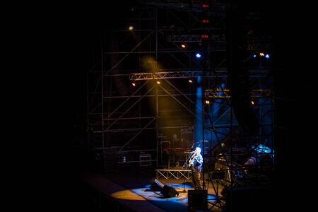 daniele: Pino Daniele on the Stage at Rivisondoli