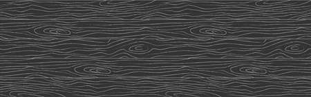 Seamless wooden pattern. Wood grain texture. Dense lines. Abstract background. Vector stock illustration