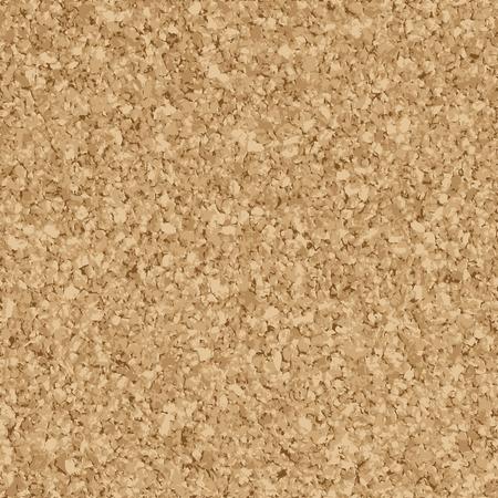 seamless background - cork board Vector