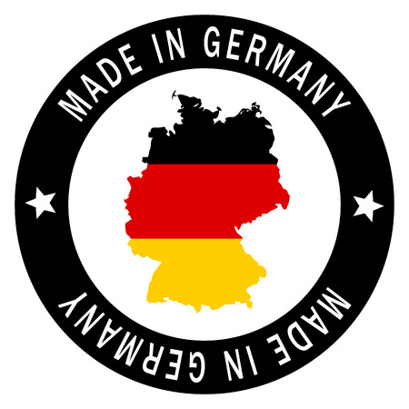 patch germany   made in germany   Vector