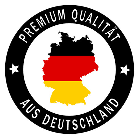 patch germany   premium quality  Vector