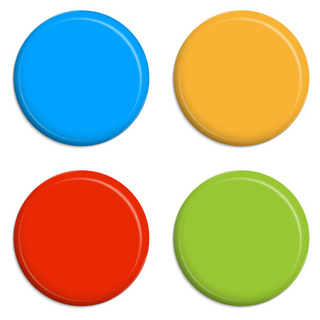 pinning: four colored buttons