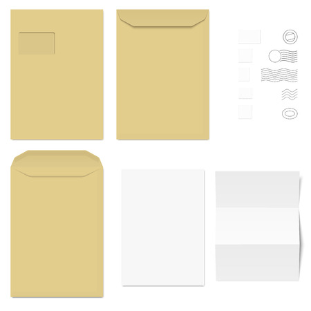 chit: collection of envelopes, stamps and sheets