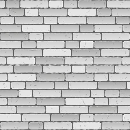 naadloze grijze muur achtergrond Stock Illustratie