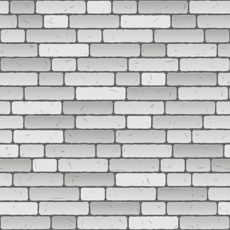 seamless gray wall background Vector