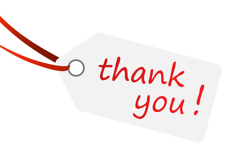 thank you very much: hangtag - thank you