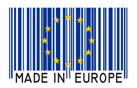 bar code - Made in Europe